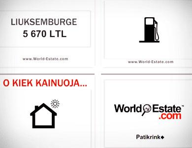 World-Estate.com internet advertising